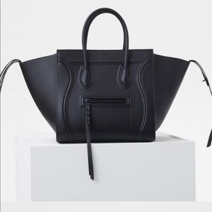 1000% authentic Celine phantom med black on black